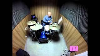 Como Tocar Bateria - I´ve Just Seen A Face - Uptempo Swing - Jazz Instrumental Mix: Cafe Restaurant