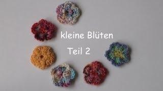 133 Stricken Kleine Blüte Teil 2 Youtube
