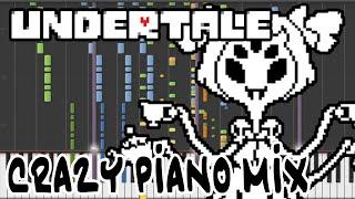 Crazy Piano Mix! SPIDER DANCE (Undertale)