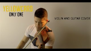 Yellowcard - Only One violin and guitar cover | David Fertello