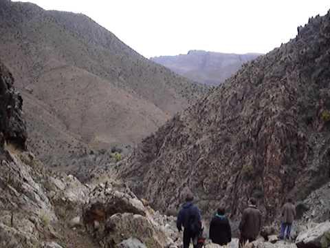Montanhas em Marrocos