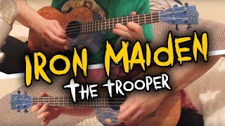 [ Iron Maiden - The Trooper ] Ukulele Cover - W/Solo!!!! + Tabs!