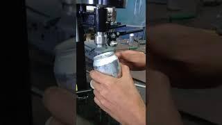 Recravadeira de latas de cerveja