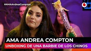 Hacemos un unboxing de una Barbie con Andrea Compton #AMAAndreaCompton