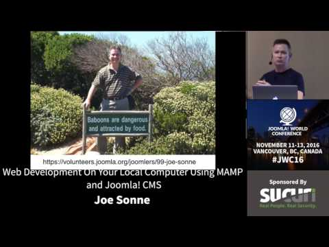 JWC 2016 - Web Development On Your Local Computer Using MAMP and Joomla! CMS - Joe Sonne