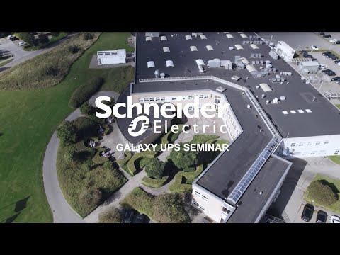 Galaxy UPS-seminar på Schneider Electrics site i Kolding