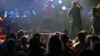 """Napalm Death feat. Frank Mullen (Suffocation) - """"The code is red...""""  Portugal 2008"""