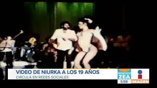¡Así bailaba Niurka a sus 19 años!   Noticias con Francisco Zea