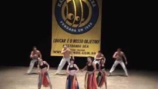 Coreografia de Capoeira - Meia-Lua Inteira