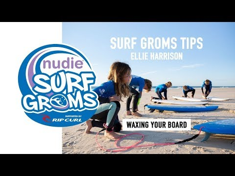 Surfing 101: How To Wax Your Board, Lesson 2