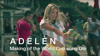 Making of the World Cup song Olé by Adelén - Norsk Hydro width=