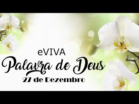 PALAVRA DE DEUS PARA HOJE 27 DE DEZEMBRO eVIVA MENSAGEM MOTIVACIONAL PARA REFLEXÃO DE VIDA