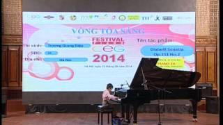 Nhất bảng A Festival Piano CEG 2014 - Trương Quang Diệu