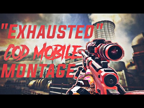 Exhausted  😔   Cod Mobile Montage