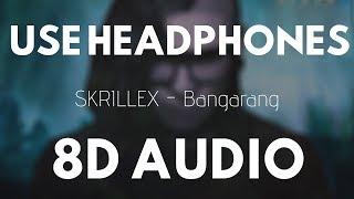 SKRILLEX - Bangarang (8D Audio) feat. Sirah | 8D UNITY