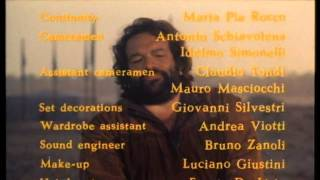 Soldier Of Fortune (1976) (Bud Spencer) End Credits (480p)