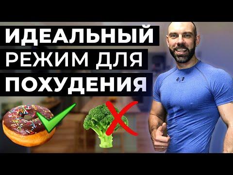 Идеальный / жиросжигающий режим для похудения! (лучшая диета)