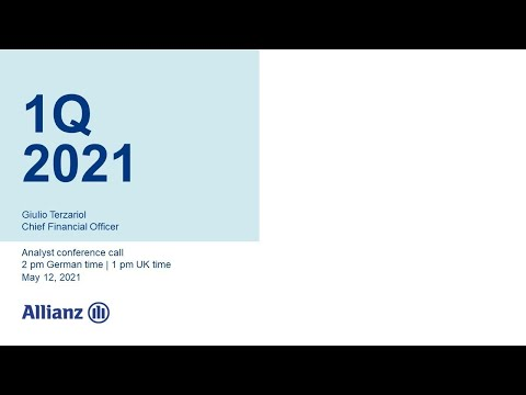 Allianz Group Analyst Conference Call on 1Q 2021
