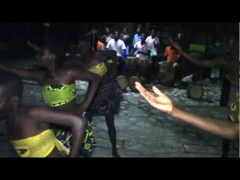 Drumming & Dancing Pt 1-2 at One Africa  Ghana Tour Oct 2012