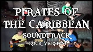 HE'S A PIRATE - Pirates of the Caribbean soundtrack (full band rock cover)