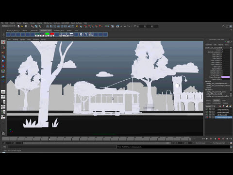 Lavazza Favola CG environment making off