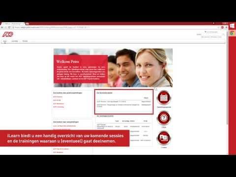iLearn: uw digitale toegang tot ADP Opleidingen