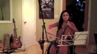 Tina Guo Live- Solo Cello for CSI:NY episode 614