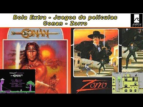 Bola Extra - Juegos de películas ... Conan y Zorro, en todas sus versiones