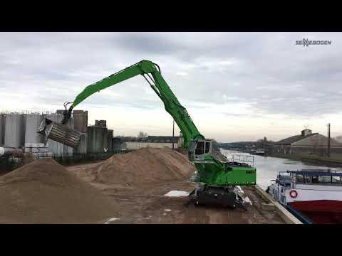 SENNEBOGEN 850 E Mobil - Hafenumschlag bei Sarl Gras, Frankreich