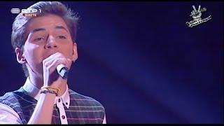 """Bruno Vieira - """"Sopro do Coração"""" Clã - Gala 3 - The Voice Portugal"""