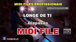 ♬ Midi file  - LONGE DE TI   - Diapasão