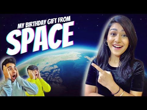 GETTING MY BIRTHDAY GIFT FROM SPACE BY MY BROTHERS | Rimorav Vlogs