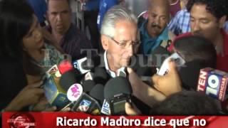 Ricardo Maduro dice que no aspirará de nuevo a liderar el gobierno
