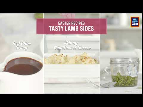 Introducing Aldi's Tasty Easter Lamb Sides