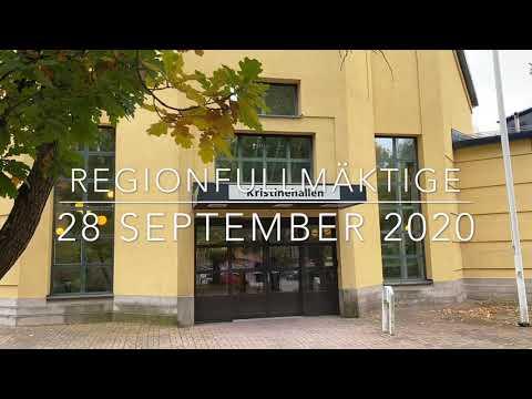 Sammanfattning av regionfullmäktige 28 september 2020