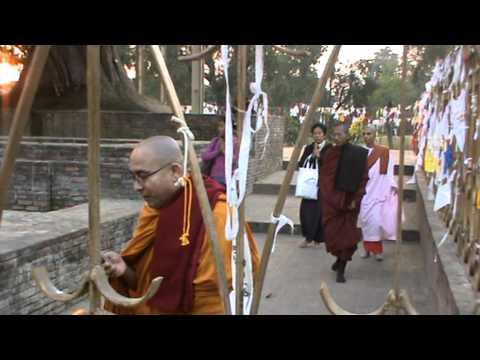 Sopaka Bhantejyu Lumbini Nepal to India Travel dec2010 44