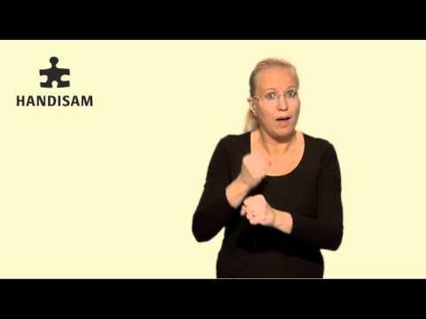 Om uppföljning av funktionshinderspolitiken på teckenspråk