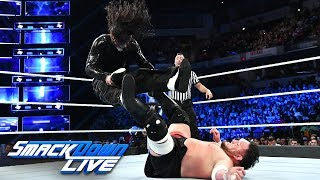 Jeff Hardy vs. Samoa Joe - WWE World Cup Qualifying Match: SmackDown LIVE, Oct. 9, 2018