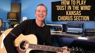 How to play Dust In The Wind chorus section
