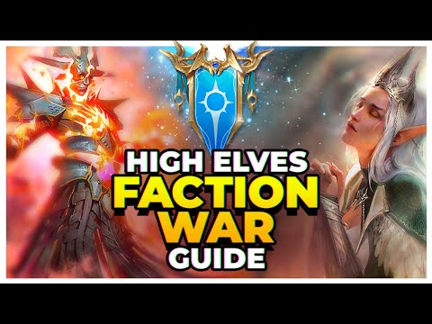 RAID | HIGH ELVES | Faction Wars Guide | Final Stage Auto