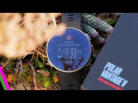 Polar Vantage V First Run & First Impressions
