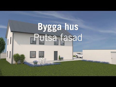 Bygga hus – Putsa fasad
