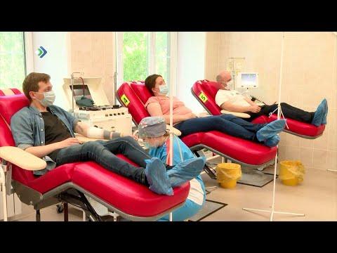 Неоценимый вклад в борьбу с COVID 19 внесла станция переливания крови в столице Коми