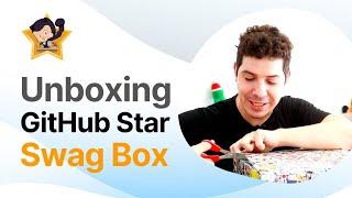 UNBOXING de la GitHub Star SWAG Box 📦