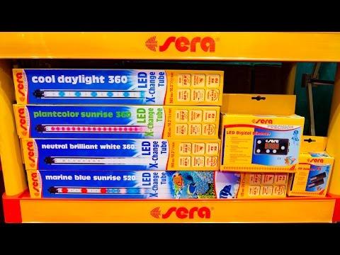 New LED Lights from SERA