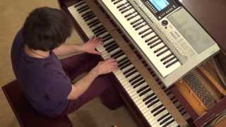Mike Candys ft Evelyn Carlprit - Brand new Day - piano & keyboard synth cover by LIVE DJ FLO
