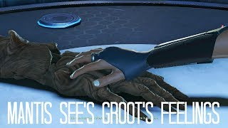 Guardians of the Galaxy The Telltale Series Episode 3 - Mantis See's Groot's Feelings