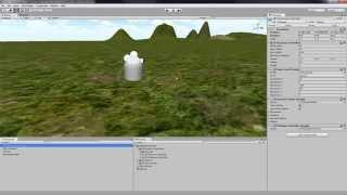 Tutorial Unity 3D ITA- Texture terreno, Skybox, Character controller