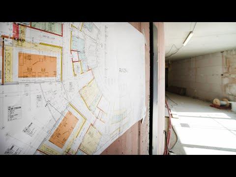 Blick in die Baustelle: Neubau Seniorenresidenz Brunnenbergblick