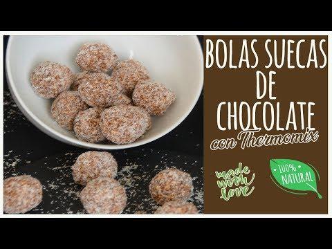 Bolas suecas de chocolate